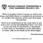 card with Morrison quotation